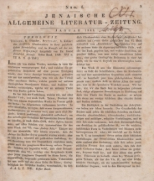 Jenaische Allgemeine Literatur-Zeitung. Januar - Juni 1841.