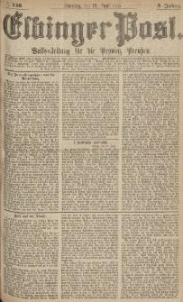 Elbinger Post, Nr.140 Sonntag 18 Juni 1876, 3 Jh