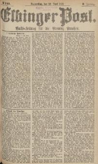 Elbinger Post, Nr.143 Donnerstag 22 Juni 1876, 3 Jh