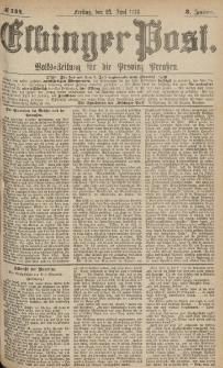 Elbinger Post, Nr.144 Freitag 23 Juni 1876, 3 Jh