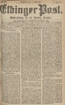 Elbinger Post, Nr.151 Sonnabend 1 Juli 1876, 3 Jh