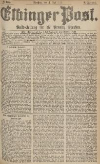 Elbinger Post, Nr.153 Dienstag 4 Juli 1876, 3 Jh