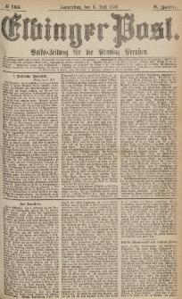 Elbinger Post, Nr.155 Donnerstag 6 Juli 1876, 3 Jh