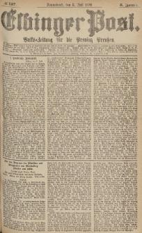 Elbinger Post, Nr.157 Sonnabend 8 Juli 1876, 3 Jh