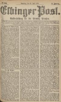 Elbinger Post, Nr.158 Sonntag 9 Juli 1876, 3 Jh