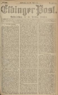 Elbinger Post, Nr.160 Mittwoch 12 Juli 1876, 3 Jh