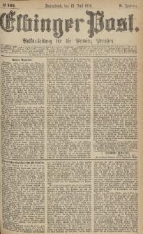 Elbinger Post, Nr.163 Sonnabend 15 Juli 1876, 3 Jh