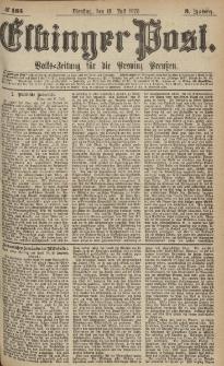 Elbinger Post, Nr.165 Dienstag 18 Juli 1876, 3 Jh