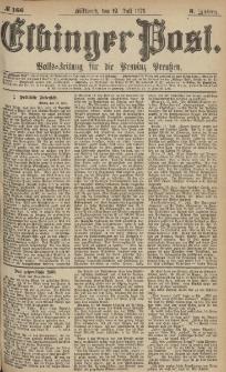 Elbinger Post, Nr.166 Mittwoch 19 Juli 1876, 3 Jh