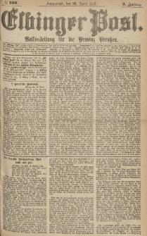 Elbinger Post, Nr.100 Sonnabend 29 April 1876, 3 Jh