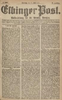 Elbinger Post, Nr.107 Sonntag 7 Mai 1876, 3 Jh