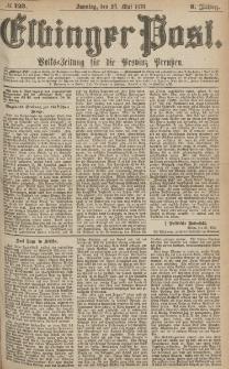 Elbinger Post, Nr.123 Sonntag 28 Mai 1876, 3 Jh