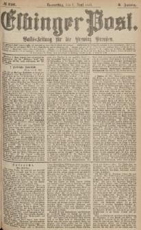 Elbinger Post, Nr.126 Donnerstag 1 Juni 1876, 3 Jh