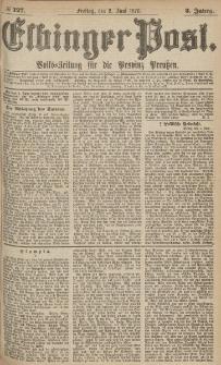 Elbinger Post, Nr.127 Freitag 2 Juni 1876, 3 Jh