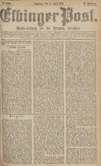 Elbinger Post, Nr.129 Sonntag 4 Juni 1876, 3 Jh