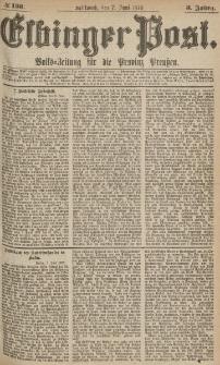 Elbinger Post, Nr.130 Mittwoch 7 Juni 1876, 3 Jh
