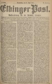Elbinger Post, Nr.131 Donnerstag 8 Juni 1876, 3 Jh