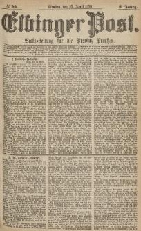 Elbinger Post, Nr.96 Dienstag 25 April 1876, 3 Jh