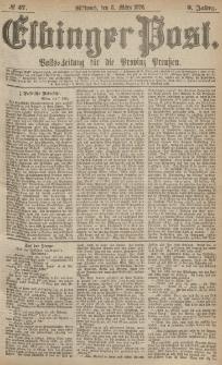 Elbinger Post, Nr.57 Mittwoch 8 März 1876, 3 Jh