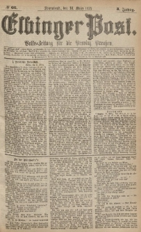 Elbinger Post, Nr.66 Sonnabend 18 März 1876, 3 Jh