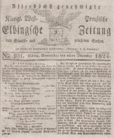 Elbingsche Zeitung, No. 101 Donnerstag, 16 Dezember 1824