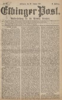 Elbinger Post, Nr.7 Mittwoch 10 Januar 1877, 4 Jh