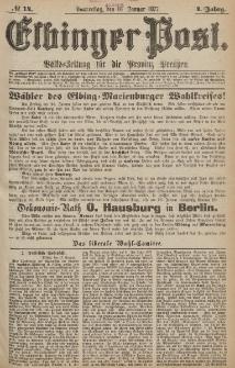 Elbinger Post, Nr.14 Donnerstag 18 Januar 1877, 4 Jh