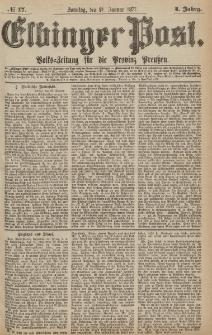 Elbinger Post, Nr.17 Sonntag 21Januar 1877, 4 Jh