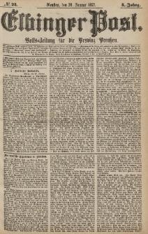 Elbinger Post, Nr.24 Dienstag 30 Januar 1877, 4 Jh