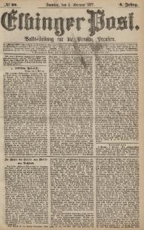 Elbinger Post, Nr.29 Sonntag 4 Februar 1877, 4 Jh