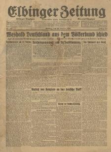 Elbinger Zeitung, 1933, nr 242
