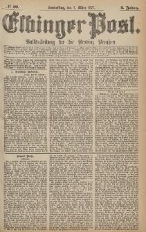 Elbinger Post, Nr.50 Donnerstag 1 März 1877, 4 Jh