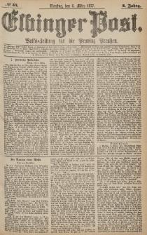 Elbinger Post, Nr.54 Dienstag 6 März 1877, 4 Jh