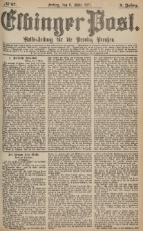 Elbinger Post, Nr.57 Freitag 9 März 1877, 4 Jh