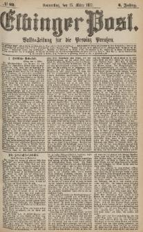 Elbinger Post, Nr.62 Donnerstag 15 März 1877, 4 Jh