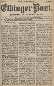 Elbinger Post, Nr.66 Dienstag 20 März 1877, 4 Jh