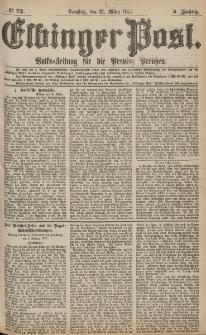 Elbinger Post, Nr.72 Dienstag 27 März 1877, 4 Jh