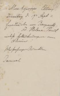 Musikgruppe Elbing (19.IX.1911)