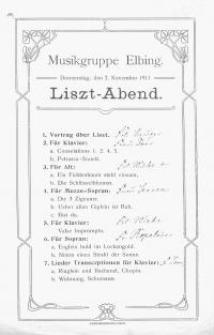 Liszt-Abend