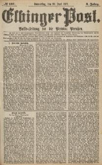 Elbinger Post, Nr.147 Donnerstag 28 Juni 1877, 4 Jh