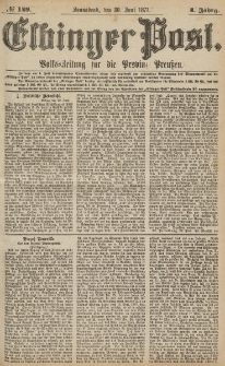 Elbinger Post, Nr.149 Sonnabend 30 Juni 1877, 4 Jh