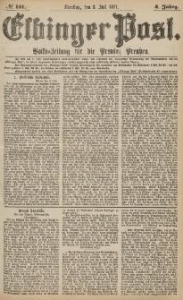 Elbinger Post, Nr.151 Dienstag 3 Juli 1877, 4 Jh