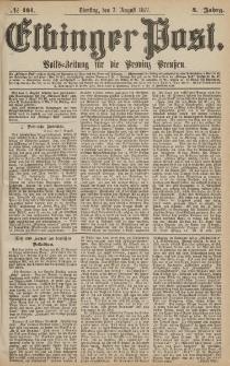 Elbinger Post, Nr.181 Dienstag 7 Augusti 1877, 4 Jh