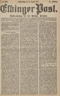 Elbinger Post, Nr.183 Donnerstag 9 Augusti 1877, 4 Jh