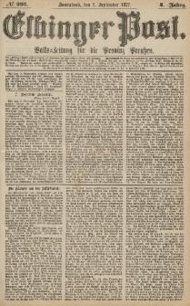 Elbinger Post, Nr.203 Sonnabend 1 September 1877, 4 Jh