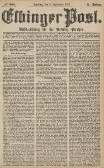 Elbinger Post, Nr.204 Sonntag 2 September 1877, 4 Jh
