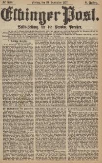 Elbinger Post, Nr.226 Freitag 28 September 1877, 4 Jh
