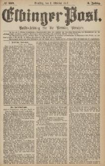 Elbinger Post, Nr.229 Dienstag 2 Oktober 1877, 4 Jh