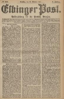 Elbinger Post, Nr.240 Sonntag 14 Oktober 1877, 4 Jh
