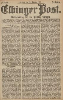 Elbinger Post, Nr.244 Freitag 19 Oktober 1877, 4 Jh
